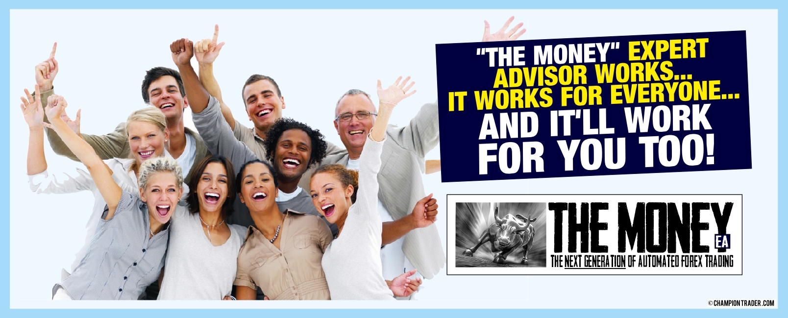 THE MONEY forex expert advisor EA works - it works for everyone - and it'll work for you too!