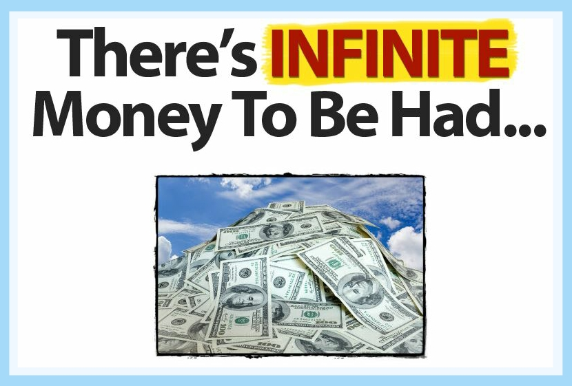 The Money EA forex expert advisor logo start making money today! there's infinite money to be had